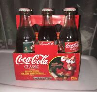 Vintage Coca-Cola Collectible Series Christmas 1996 Six Pack Holiday Unopened