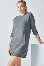 Fabletics Elena robe gris anthracite taille US 8/UK 12 LF077 GG 14