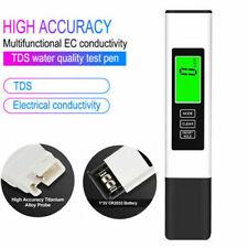 Water Quality Tester,Water Purity Test,TDS Meter,EC Meter0-9990ppm Swimming Pool
