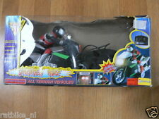 4 PLASTIC MODEL THUNDERBIKE NO 8 WITH REMOTE CONTROL,BATTERY OPERATED WITH BOX