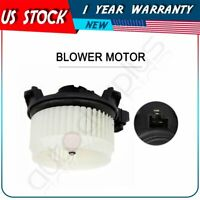 A/C Heater Blower Motor with Fan Cage for 08-13 Scion Toyota Yaris ABS plastic