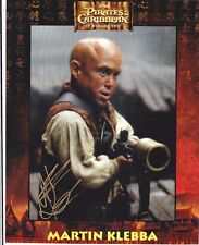 Martin Klebba - Pirates of the Caribbean signed photo
