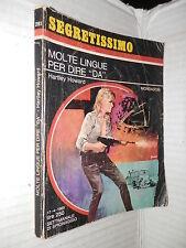 MOLTE LINGUE PER DIRE DA Hartley Howard Mondadori 1969 libro romanzo narrativa