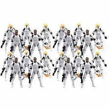 Lot 20 Star Wars Clone Pilot TROOPER  501st action Figure 2015 2005 movie S342x2