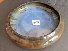 Fulper Art Pottery 10 1/2 inch Low Bowl, see description for colors