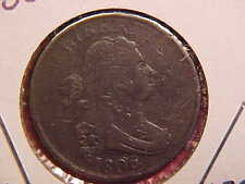 1806 P Half Cent - Small Dings - F - See Pics! - (N4511)
