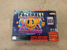 Faceball 2000 - Factory Sealed Snes game Super Nintendo New Old Stock