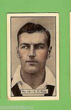 1934 - 1935 ALLEN'S CRICKET CARDS #10  K. E. RIGG