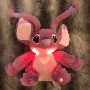 Disney Angel Peluche Veilleuse Plush Light Up Toy LILO & Stitch Primark