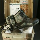 """Mossy Oak Footwear Campfire Men's 8 CAMO 8"""" Hunting Boots 800g Thinsulate ULTRA"""
