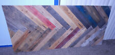 "Queen Size Bed Reclaimed Pallet wood Rustic Headboard 66"" wide x 30"" tall"