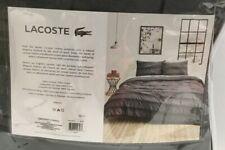 Lacoste Gradient Stripe Reversible Twin/ Twin XL /Comforter Set in Grey