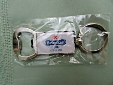 *NIP* Heineken 0.0 BEER BOTTLE OPENER KEY CHAIN, HEAVY DUTY