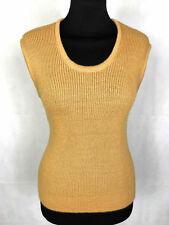 CULT VINTAGE '70 Gilet Maglia Donna Lana Woman Wool Waistcoat Knitwear Sz.S - 42