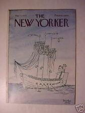 NEW YORKER magazine March 3 1975 NICULAE ASCIU +++