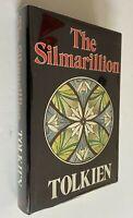 1977 The Silmarillion J.R.R. Tolkien 1st Edition 1st Print HCDJ Excellent