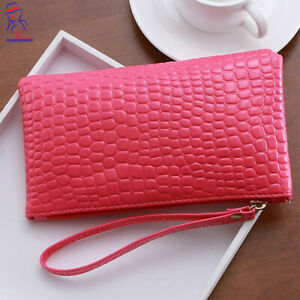 New Hot Pink Color Women Makeup Cosmetic Toiletry Organizer Bag Storage Case Bag