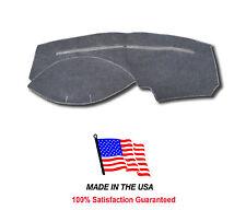Gray Carpet Dash Cover Compatible w/ 2000-2004 Ford Focus FO6-0