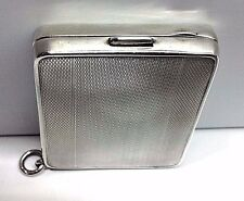 Vintage Sterling Silver CIGARETTE CASE (41.9 grams)