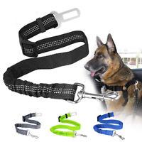Anti Shock Cat Dog Pet Safety Seat belt Clip Car Vehicle Adjustable Harness Lead