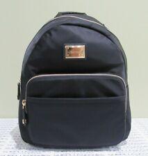 CALVIN KLEIN Small Nylon Black/Gold Backpack Purse Bag NWT Style H6DKE5HH