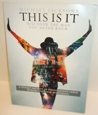 Michael Jackson~This Is It~London Tour Last Rehearsal Photo Book~RARE~Ships FREE