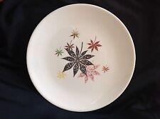"""VTG Peter Terris Calico Leaves Dinner Plate -9-3/4"""""""