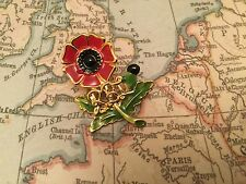 HM ARMED FORCES VETERAN POPPY MOD BRITISH ARMY RUC POLICE UDR pin badge 7