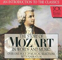 Wolfgang Amadeus Mozart - Mozart  His Story and His Music [CD]