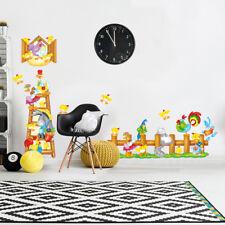 RCC0028 WallStickers Adesivi Murali Bambini Fattoria allegra 30x120 cm
