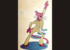 Pink Panther Disco Vintage 1978 Original T-Shirt Iron On Glitter Transfer 2