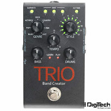Digitech Trio Band in a pedal Guitar effect with backing drums and bass guitar