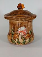 "Vintage 1974 Arnels Mushroom Canister 6.5"""