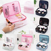 Travel Cosmetic Makeup Bag Toiletry Storage Case Hanging Pouch Wash Organizer