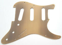 NEW PICKGUARD ANODIZED STRATOCASTER SSS alu - bronze - pour strat