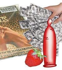 50 preservatifs saveur fraise Norme CE SECURA  fab en Allemagne