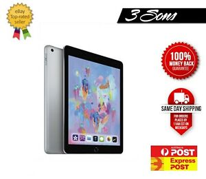 As New Apple iPad 6th Gen 9.7inch - 32GB/ 128GB WIFI/  WIFI+ Cellular  [AU Sell]