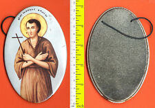 #12131 Greece, Saint John the Russian. Paper icon, metal structure