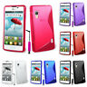 Protective Cover For LG Optimus L5 II E460 TPU Silicone Flip Case Cover Bowl