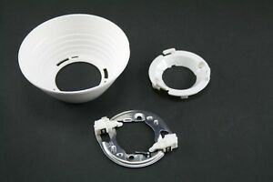 5x IDEAL CLU048 holders solderless + LEDiL Angelina F13838 90 degree reflectors