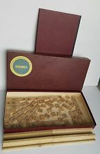 Vintage Scrabble Game 1948 - 1953 Selchow Righter Company Complete