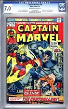 Captain Marvel #30 - CGC Graded 7.0 (FN/VF) 1974 - Bronze Age