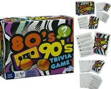 Trivia Game 80's 90's Trivia The Totally Radical Blast From The Past -New Sealed