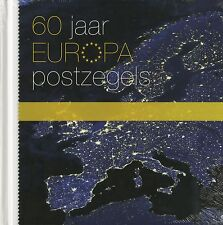 Alle 2 velletjes & boek 60 jaar Europazegels; zegels waarde internationaal !! PF