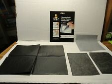 Mona Lisa Graphite Paper - 4 Sheets New Never Use & 3 Used Sheets Partly Used