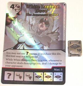Blanc Lanterne Colombe The Sensibilisation Pour Vivant 122 Batman Dé Masters Dc