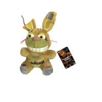 """New FNAF Five Nights At Freddy's Springtrap BUNNY 7"""" Plush Toy Doll Gift Plushie"""