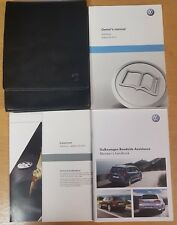 GENUINE VW SCIROCCO HANDBOOK OWNERS MANUAL WALLET 2008-2014 PACK E-416