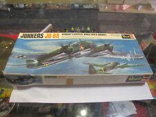 Vintage Revell Junkers JU 88 - 100% Complete