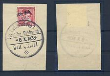 Reichenberg 24 Francobolli su lettera (con obliquo Pressione) (518012)